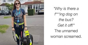 remove service dog